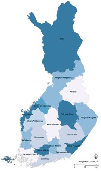 suomenmaakunnat2011