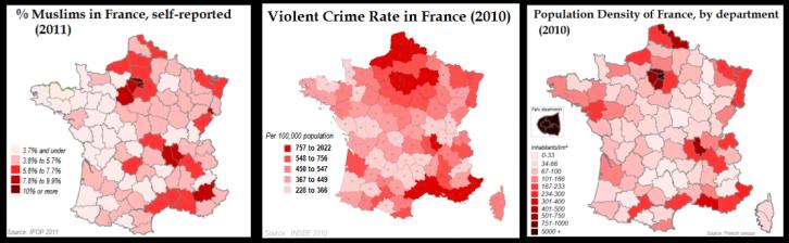 France 3 Maps Violent crime