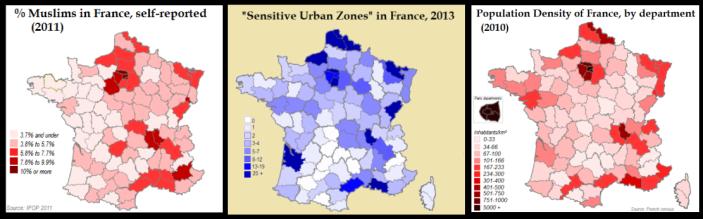 France 3 Maps ZUS Neighborho
