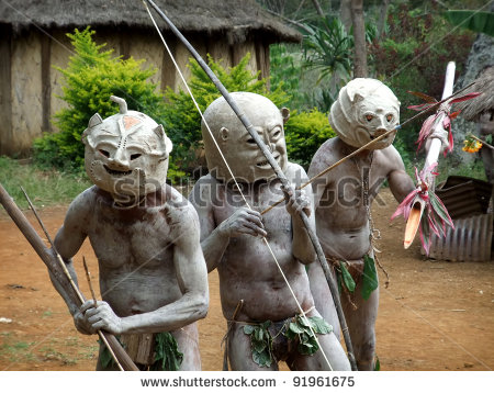 stock-photo-goroka-papua-new-guinea-september-mudmen-warriors-clasp-their-weapons-at-goroka-tri