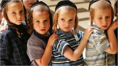 Haredi kids - Satmar kinderlach - WayUpNorthToNowhere