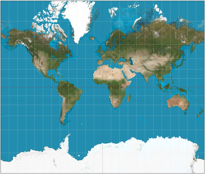 Mercatorin Projektio