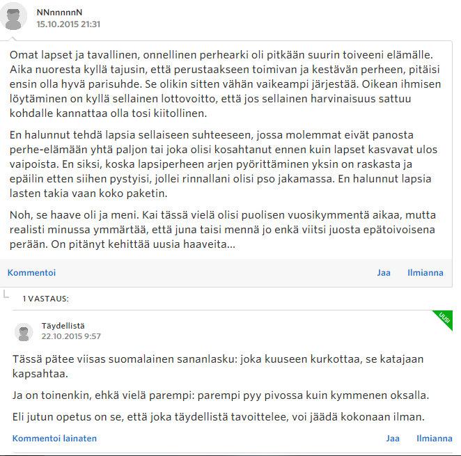 Miksi naiset eivät enää halua lapsia - Sinkut - Suomi24 Keskustelut - Google Chrome 22.10.2015 172116