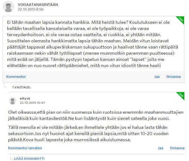 Miksi naiset eivät enää halua lapsia - Sinkut - Suomi24 Keskustelut - Google Chrome 22.10.2015 173023