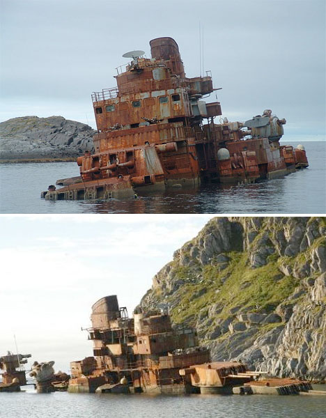 Abandoned-Scandinavia-Murmansk-Ship-1